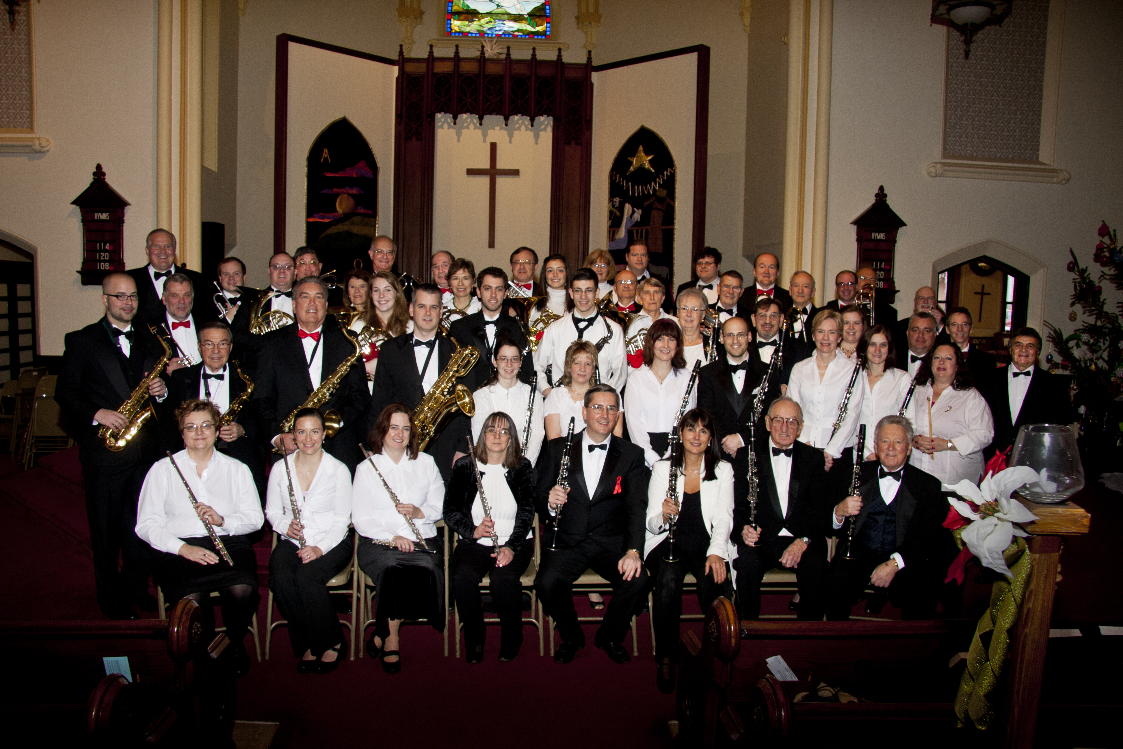 Middlesex Symphonic Band, Middletown, CT, USA, 2009