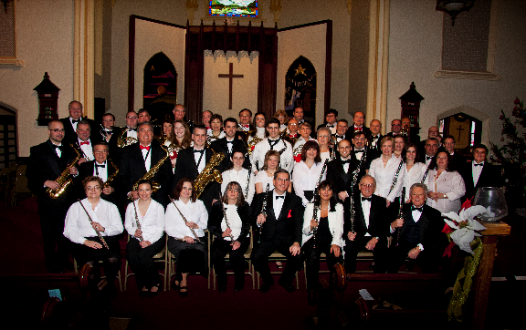 Middletown Symphonic Band, Middletown, CT, USA, 2012
